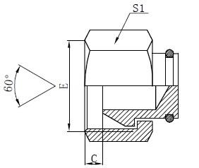 BSP Female Plugs Drawing